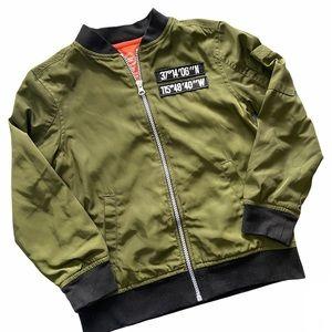 Wonder Nation Boys bomber jacket size small 6-7